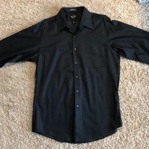 Fitted Sateen Dress Shirt (16 - 34/35)
